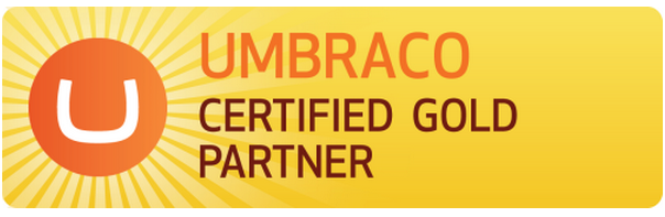 No Zebra er Umbraco Certified Gold Partner
